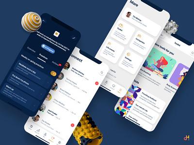 App Design - Growth, Development & Accountability (Revised) ios app mobile app mobile ui ux  ui ux ui mobile design app design ux design ui design