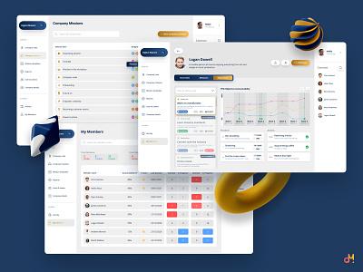 Web Portal Design - Growth, Development & Accountability (Revise web platform app design web app portal web ui ux ux  ui app design ux design ui design