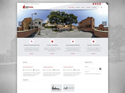 New website website web site minimal layout clean web design responsive homepage light wip