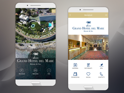 GHM App ux ui mobile ios interface design application app android