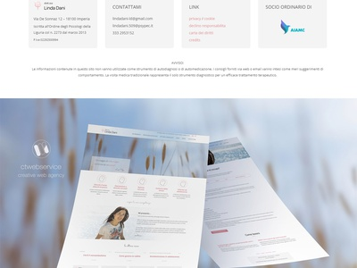 Personal site of psychologist therapist therapy wordpress template responsive web design web site website