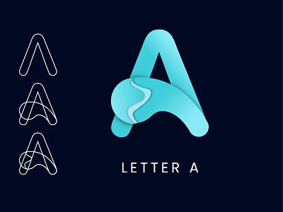 Letter A logo 2021 logo modern logo letter a logo
