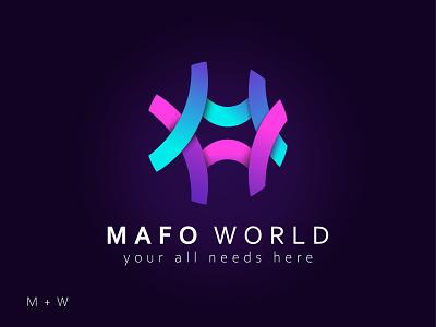 Mefo World 2021 design logo modern logo