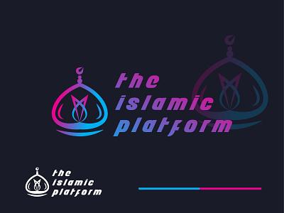 islamic platform logo illustration designs logo new logo design brand design best logo branding 2021 modern logo