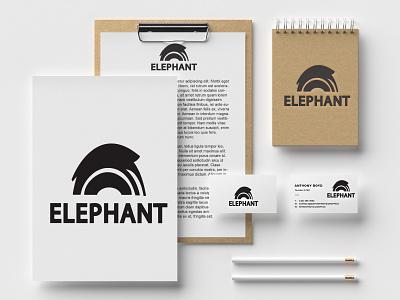 ELIFHANT LOGO logos usa brand identity abstract 2021 best logo modern logo logo idea minimalist logo logodesign logotype white black trendy minimalist ui branding logo