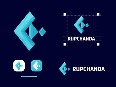Rupchanda Logo motion graphics 3d graphic design logo ui design brand design branding best logo modern logo