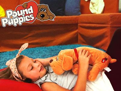 Pound Puppies Dive Into The 80s socialmedia social media design icon branding design