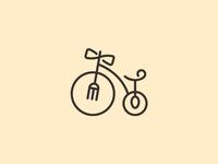 Bike + Fork + Spoon