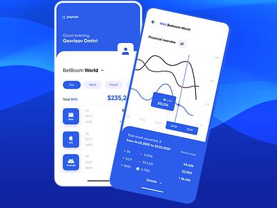 PayHub Multiple Payment FinTech App Design - ProdX financial app finance app fintech app fintech uidesign app design webdesign app illustration uiux