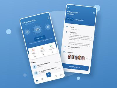 HR Management App Design branding uidesign design app design