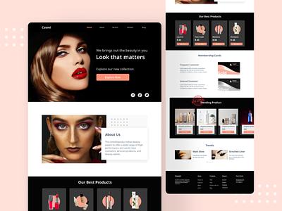 E-commerce Website Design illustration design website design app design