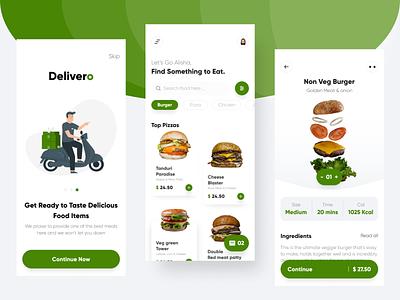 Food Delivery App Design by ProdX food delivery app design food app design food app ui uidesign design app design