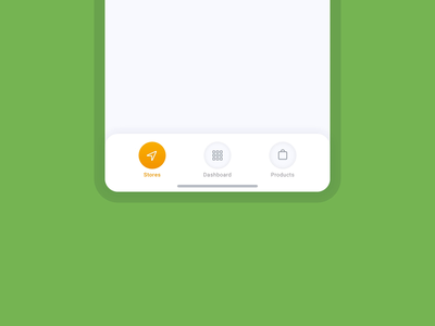 Adjustable Navigation Tab Bar dashboard app toolbar bar responsive flexible swith controls tab footer bottom navigation mobile ui