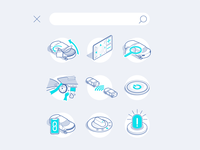 How to handle with a car icons