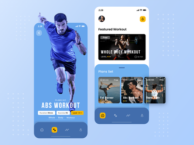 Fitness App Mobile Application wellness app sports workouts workout app workout health care healthcare health app health design mobile application user experience multiqos ui-ux mobile application design mobile app development fitness design fitness app design fitness app ui fitness app