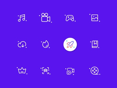 Multimedia Icon Pack - Iconsets mobile app icons icon sets multimedia icon gallery icon scanner icon video tap icon bookmark icon music icon uiuxdesign app icon designers icon designer custom icon set icon artwork website icons icons design app icons flaticon illustrator iconography icons pack