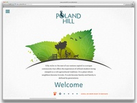Poland Hill Community Landing Page