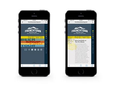 Frenchtown Brewing Website Design