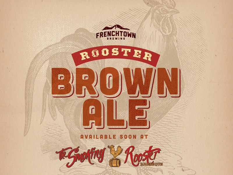 Rooster Brown Ale by Frenchtown Brewing Ad ale rooster brown virgin islands brewery beer frenchtown advertising ad