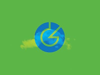 Logo Concept letterform logo cloud icon