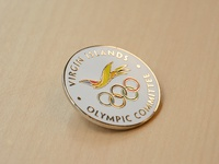 VI Olympic Committee Commemorative Pin