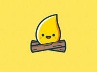 Just a firecamp logo