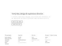 Terry Dee - Portfolio Website