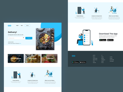 Food Delivery Site figmadesign figma
