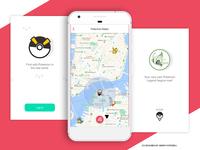 Pokemon Go Tracking UI - 2017