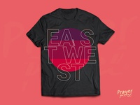 Prayer Pixel - East West©  T-Shirt Design