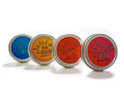 Electric Lip Bombs - Tin Set