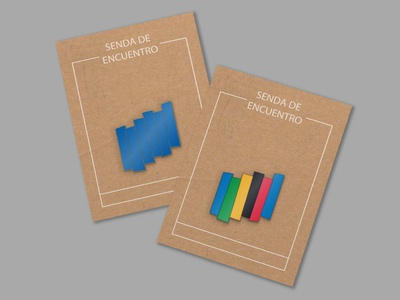 Pins design visual identity