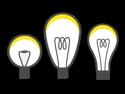 Bulbs sketch illustration