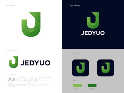 Modern J Letter Logo | Jedyuo branding logo design brand idenity modern abstract colorful creative gradient j letter logo j logo design modern logo modern letter logo lettering lettermark icon app icon identity minimal logo vector o p q r s t u v w x y z a b c d e f g h i j k l m n logo design