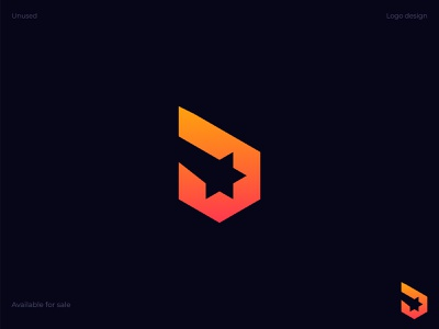 Starpoly Logo Design | Modern Logo unused p monogram negative space logo symbol identity design creative logo logo grid icon design gradient star logo abstract modern logo spark hexagon polygon stars startup branding logo design logo