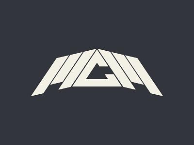 McM Sound Logo symmetry angles music dj sound design sound icon vector branding logo