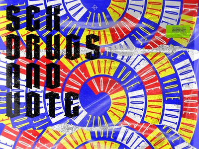 Go Vote typedesign visual design poster vote2020 vote
