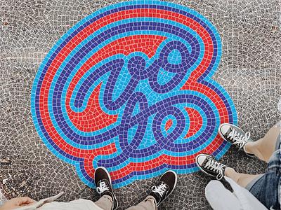 Go Vote Fauxsaics america govote vote tileable tile pattern fauxsaic
