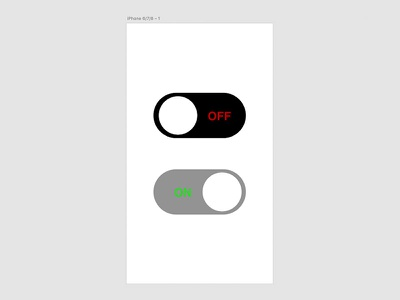 On / Off Switch iphone onoffswitch 015 adobexd ux ui dailyui