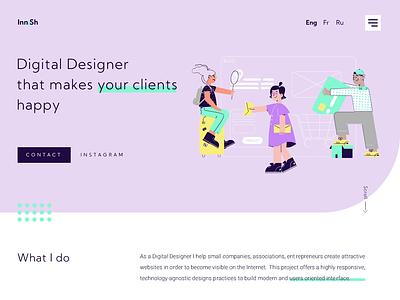 Web animation ux graphic design motion graphics animation vector website design ui web design webdesign web illustration design