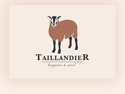 Logo Bergerie Taillandier illustration vector website design branding webdesign web design logo