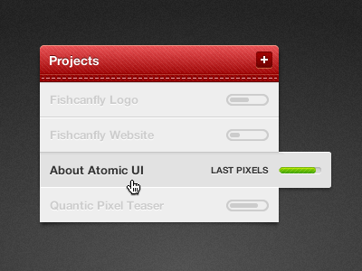Projects ui projects adobe fireworks fireworks