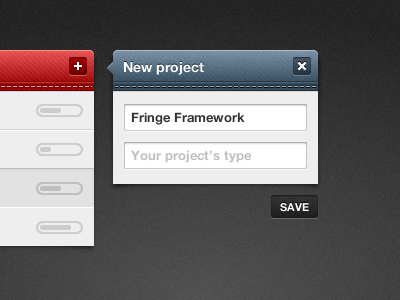 New project ui projects fireworks adobe fireworks