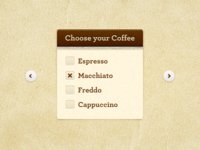 Choose Your Coffee