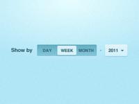 Calendar Slider