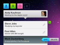 Social interface