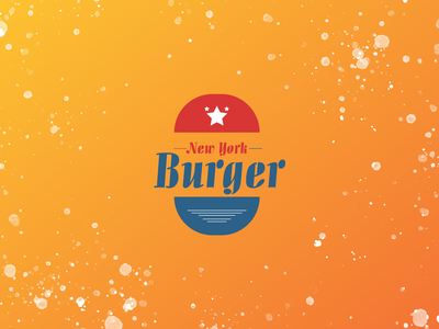 Burger Logo design typography vector illustration logo design burger logo