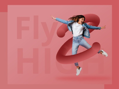 Fly High creative inspiration dailyui art uiux appdesign userexperience behance dribbble graphic design webdesign branding lockdown design vector minimal illustration
