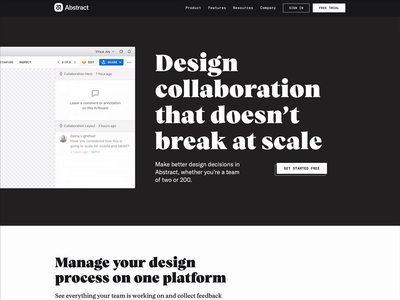 Design collaboration that doesn't break at scale