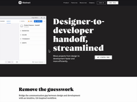 Designer-to-developer handoff, streamlined